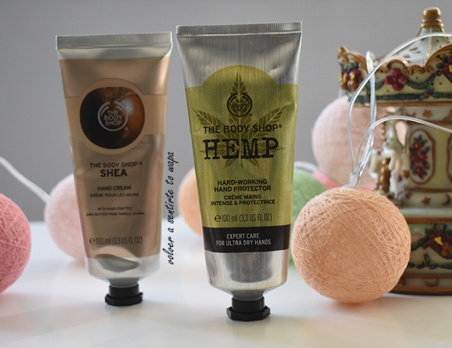 Cremas de Manos de THE BODY SHOP: Hemp y Shea
