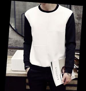 Sweater Korea Pria Model Terbaru Juni 2016