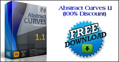 Αποκτήστε Δωρεάν το Abstract Curves 1.1. Δημιουργήστε Posters, Wallpapers, Effects, Watermarks
