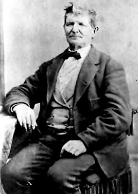 Ο John Doyle Lee (1812-1877) ο οποίος ηγήθηκε της σφαγής και ήταν ο μόνος που τιμωρήθηκε γι' αυτήν