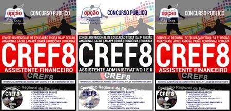 Apostila CREF da 8 AM-AC-RO-RR ASSISTENTE FINANCEIRO
