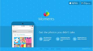 Aplikasi Moments Facebook