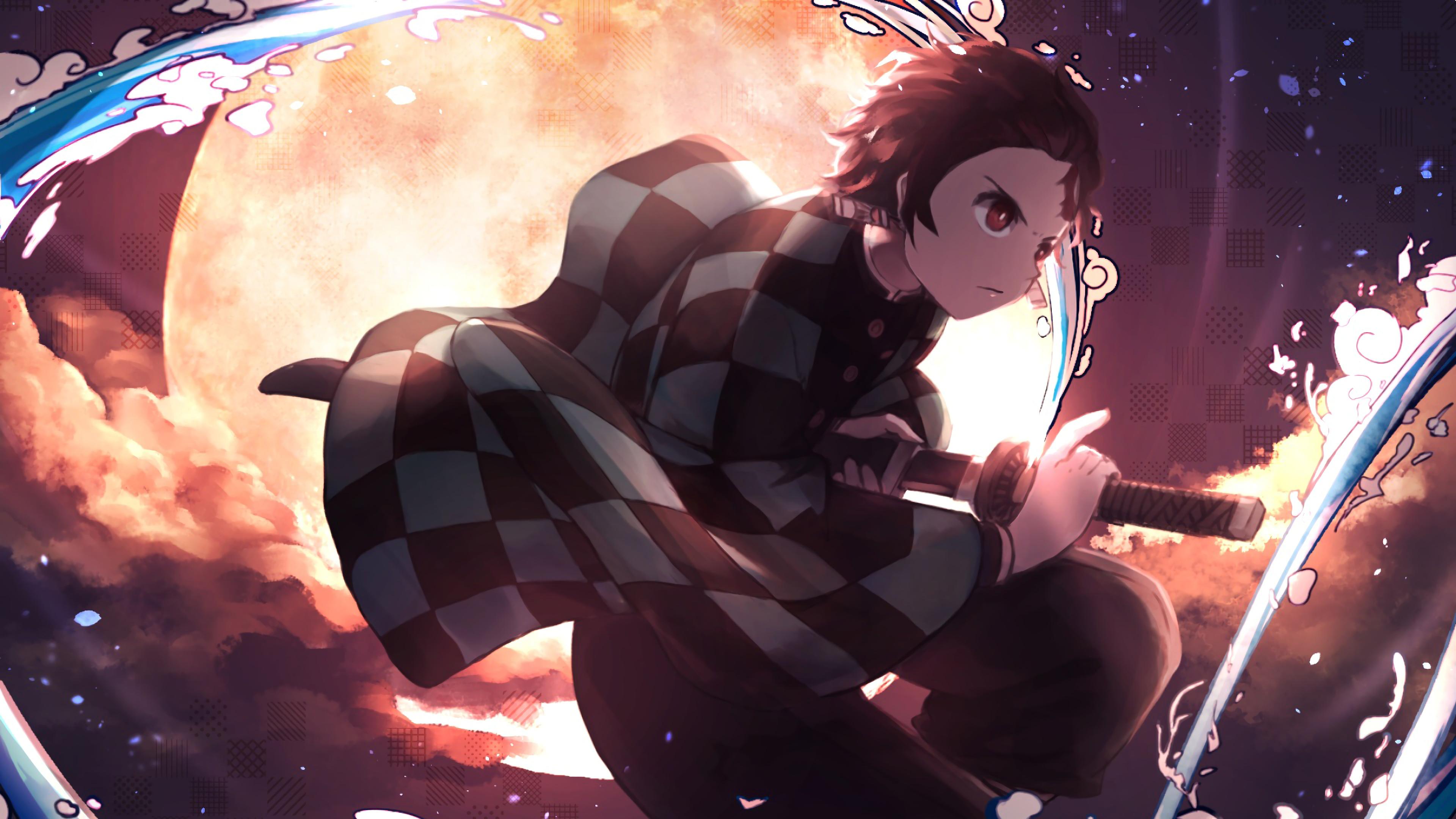 Anime Tanjiro Fondos De Pantalla 4k Para Celular