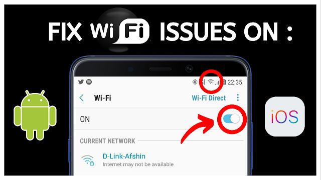 How to Fix Wi-Fi Connection Problem on Android & IOS [NOT CONNECTING OR SLOW]