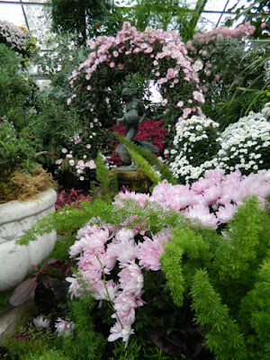 Pastel mums at Allan Gardens Conservatory 2015 Chrysanthemum Show by garden muses-not another Toronto gardening blog