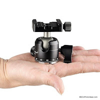Sunwayfoto XB-28 Low Profile and Lightweight Ball Head Preview