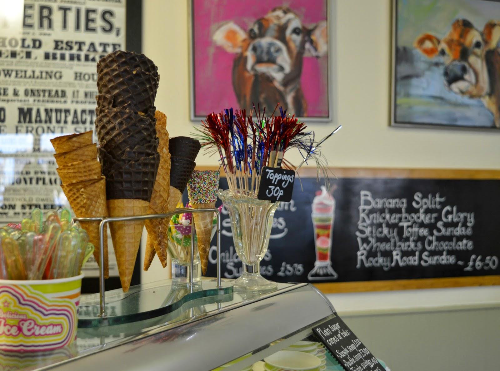 North East Ice Cream Parlours - Wheelbirks Stocksfield