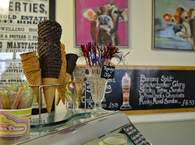 North East Ice Cream Parlours - Wheelbirks Stocksfield