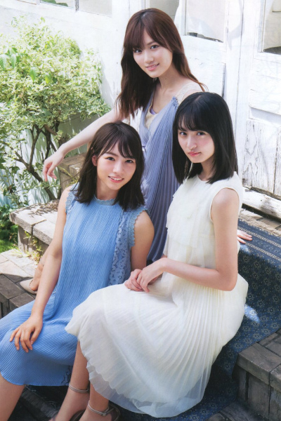 Mizuki Yamashita 山下美月, Hinako Kitano 北野日奈子, Sakura Endo 遠藤さくら, BOMB! 2019.10 (ボム 2019年10月号)