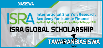 The ISRA Global Scholarship (Partial Scholarship) 2019
