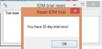 IDM 6.28 Build 10 Trial Reset Vĩnh Viễn