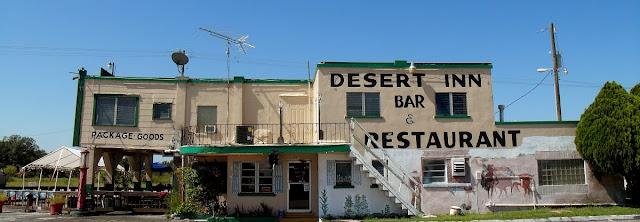 Desert Inn  en Yeehaw Junction al comienzo del recorrido