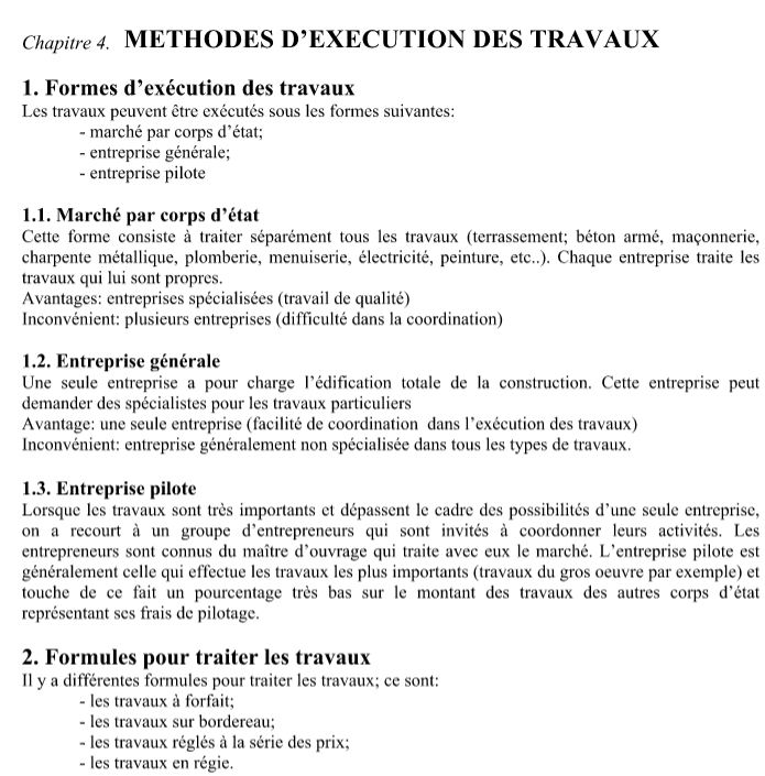 cv exemple ouvrier batiment general