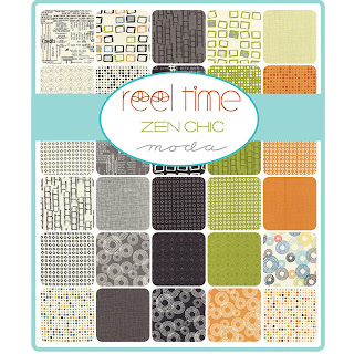 Moda REEL TIME Fabric by Zen Chic for Moda Fabrics