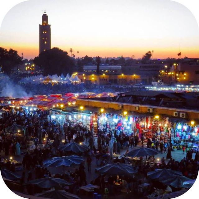 Long Weekend in Marrakech - Sidewalk Safari - Jemaa el-Fnaa
