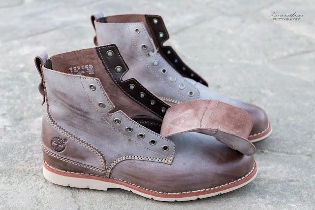 「敗家之路」Timberland 深褐色復古摔紋高筒靴 - 7