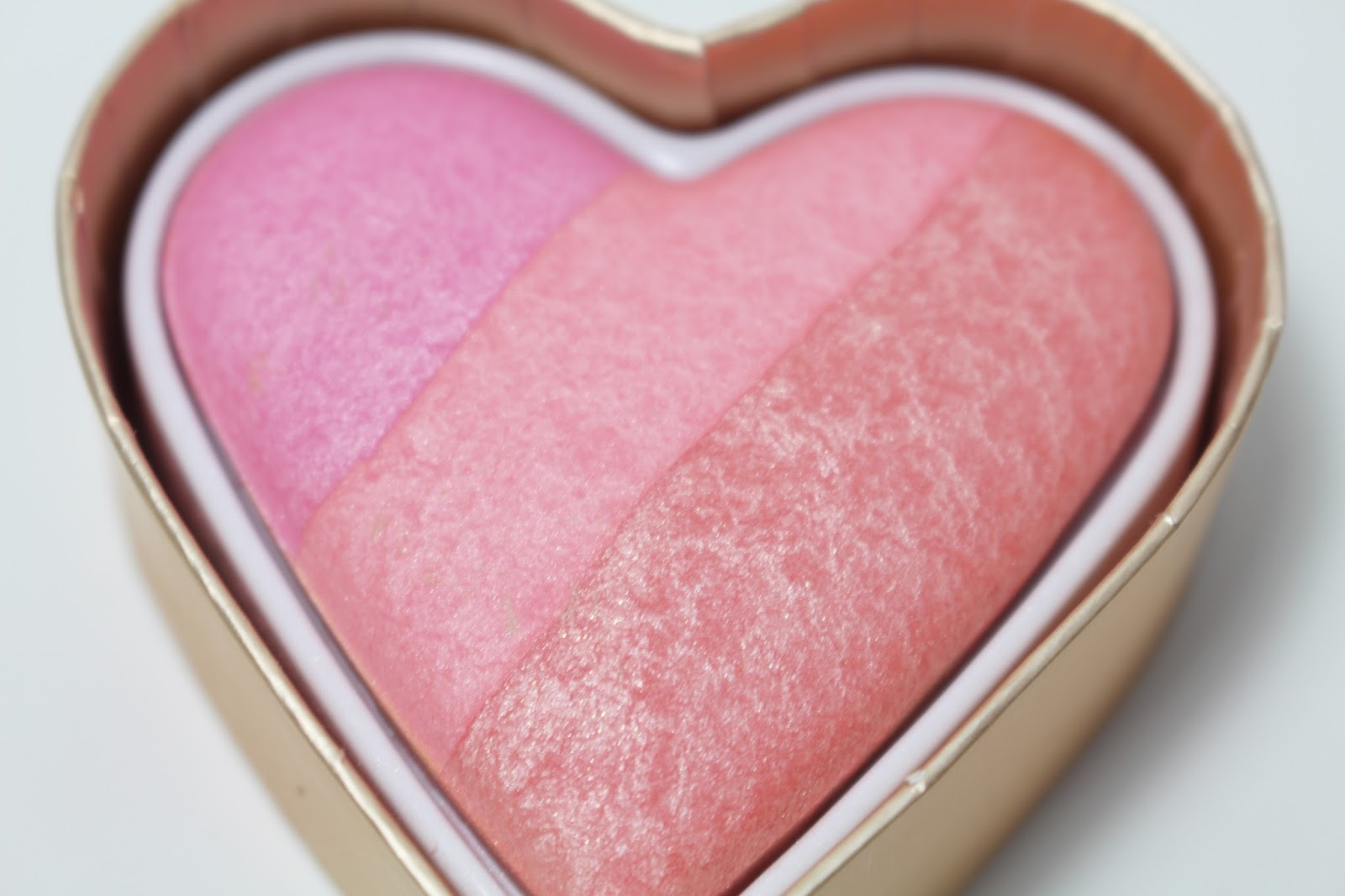 Too Faced Sweetheart Blush in Candy Glow Review