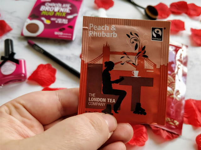 The London Tea Company Peach & Rhubarb Tea