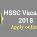 HSSC vacancy 2028 | Apply online for 1646 Posts