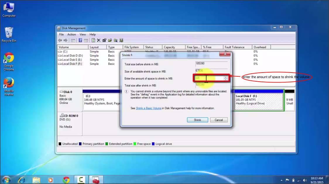 how to make hard drive partition