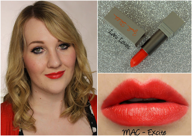 MAC Excite Lipstick Swatch