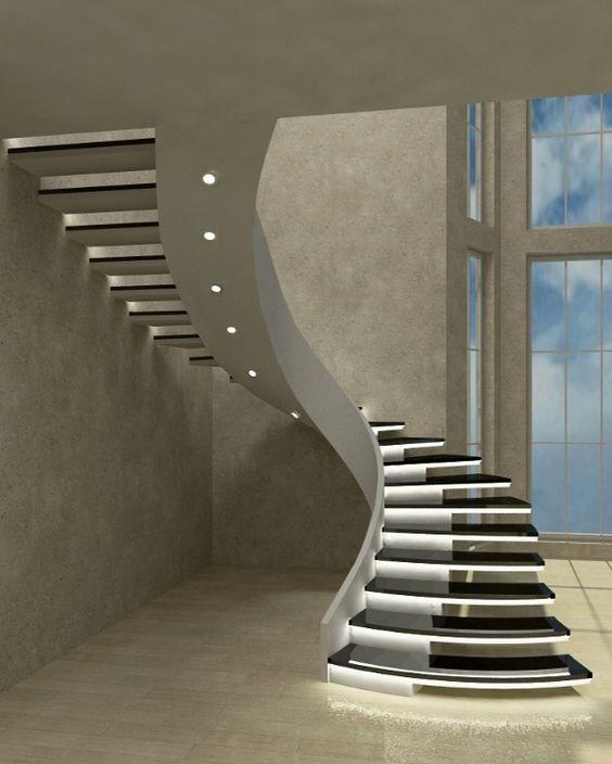 Interior Stairs Design Ideas: Latest Modern Stairs Designs Ideas Catalog 2019