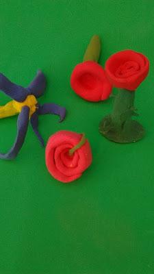 rosa-pasta modelar