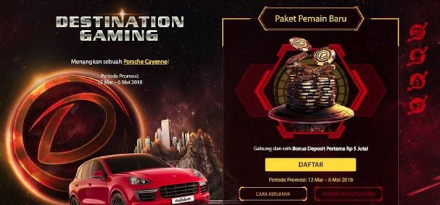Paket Pemain Baru Dafabet Indonesia