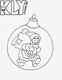 Bolas de Natal – Desenhos para Colorir