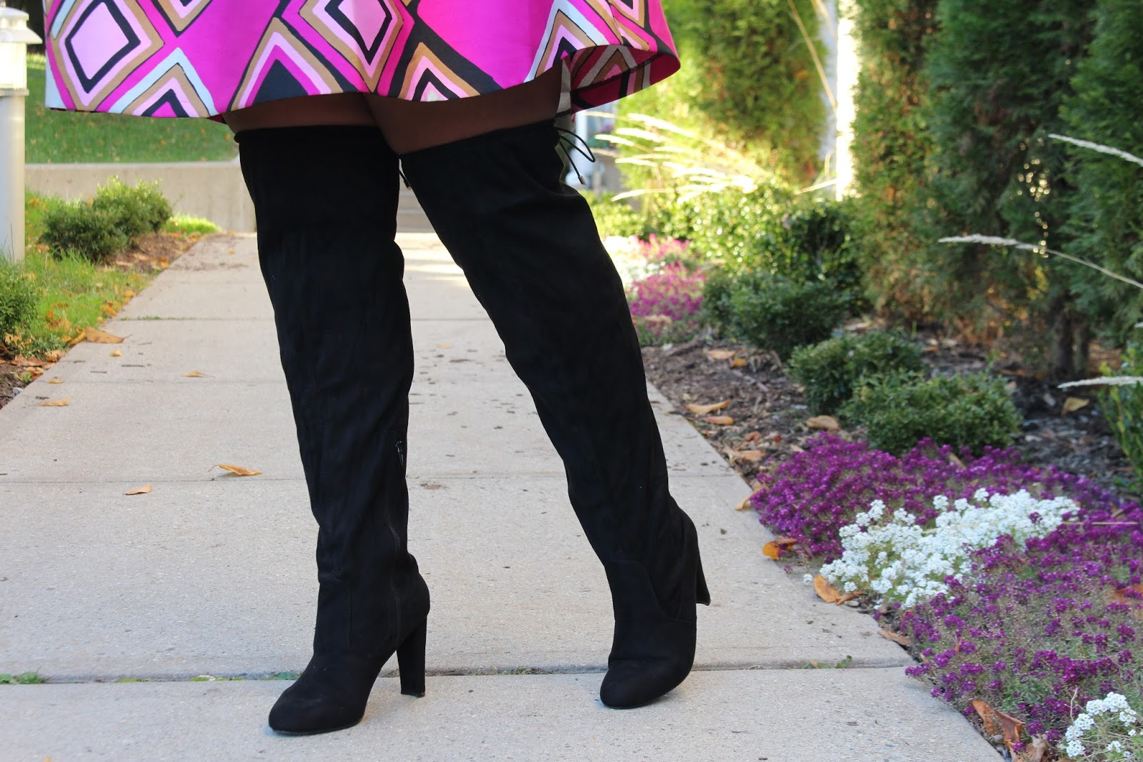 2c071a2dda5 These boots do come in 2 other colors; taupe and deep red. If you're  looking for more options for over the knee boots, check out my Must Have Plus  Size Over ...