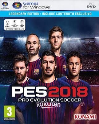 PC Pro Evolution Soccer 2018 Baixe a versão completa gratuita