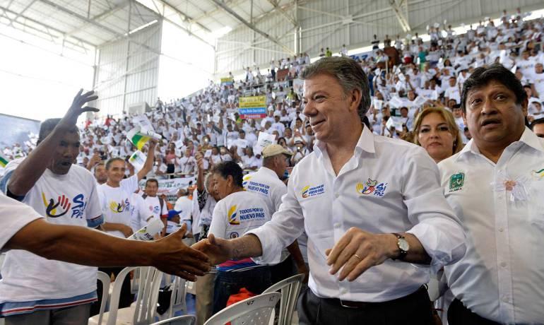 Quienes digan la verdad sobre financiamiento de algún grupo armado, quedarán limpios: Santos
