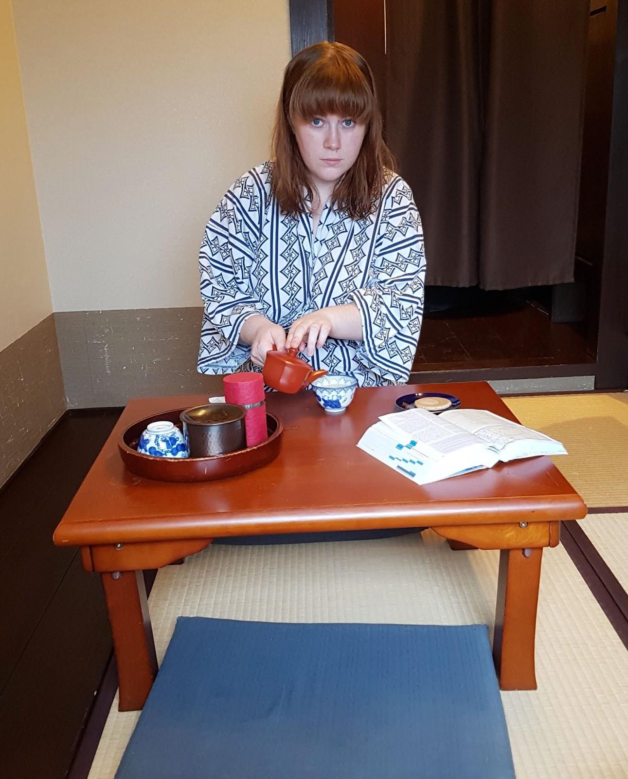 Matsubaya Ryokan Room