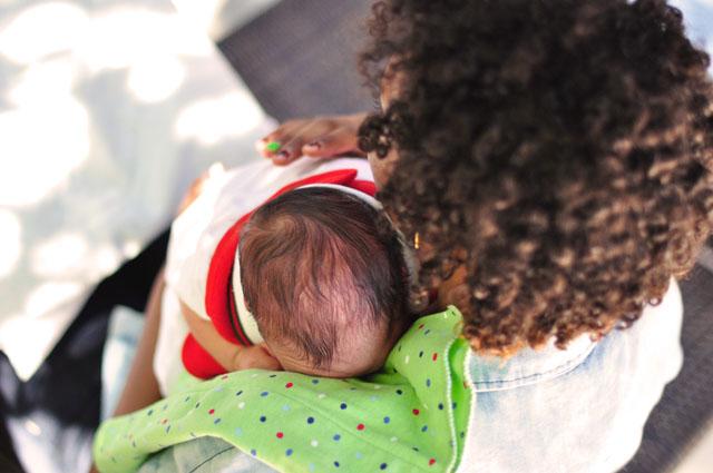 newborn baby, Dominic
