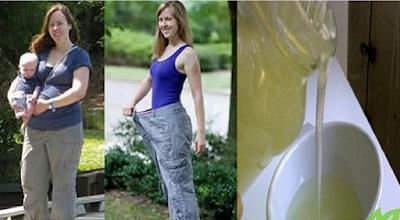إليك وصفة طبيعية للتخلص من وزنك الزائد. هذه السيدة قامت بشربه قبل النوم لمدة 5 أيام.. وتخلصت من وزنها الزائد نهائيا