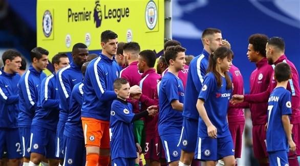 تشيلسي يهنئ مانشستر سيتي بلقب الدوري الإنجليزي 2018