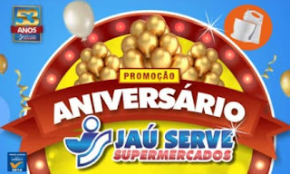 Cadastrar Promoção Jaú Serve Supermercados 2017 Aniversário 53 Anos