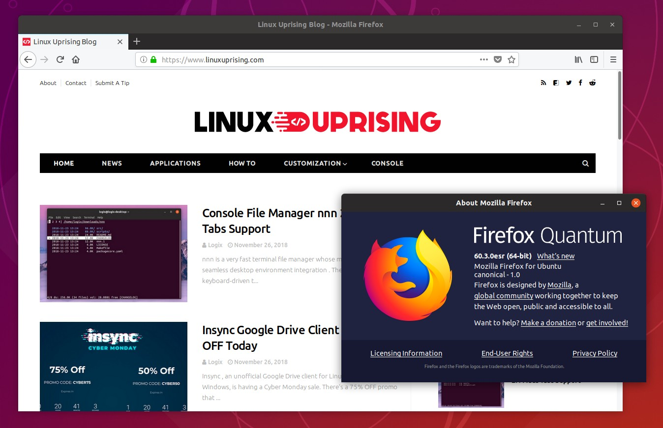 How To Install Firefox ESR In Ubuntu Or Linux Mint (PPA Or ...