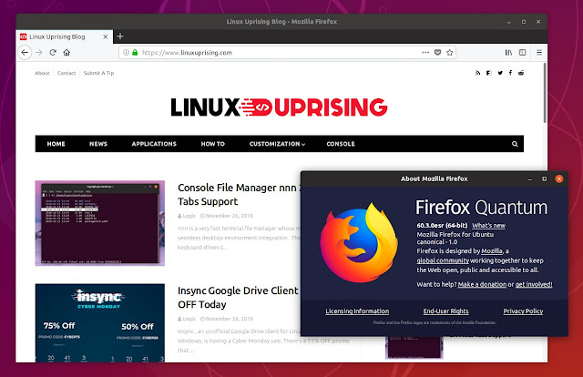 Firefox ESR PPA
