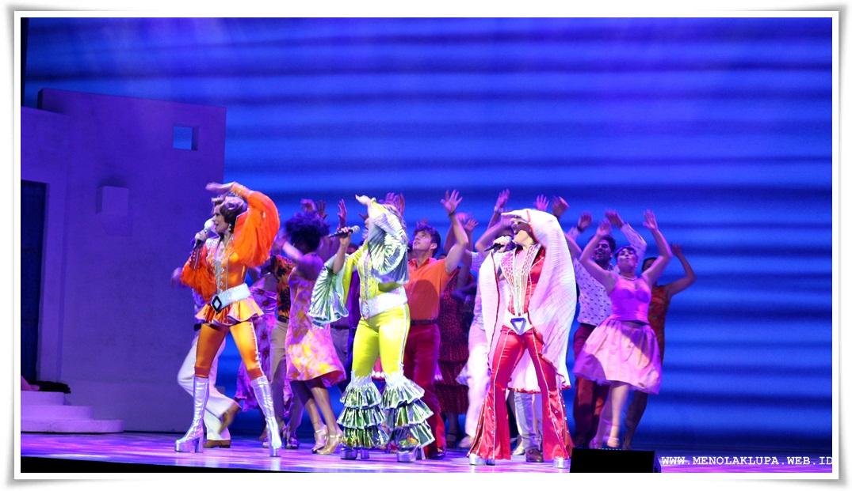 jadwal pertunjukan Mamma Mia di Jakarta
