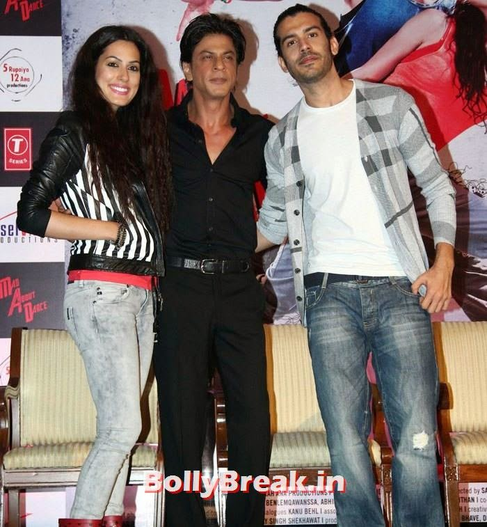 , Shah Rukh Khan Promotes Mad About Dance with Amrit Maghera, Saahil Prem