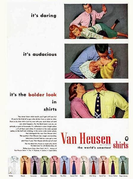 Propagandas Históricas Machistas - Camisas Van Heusen