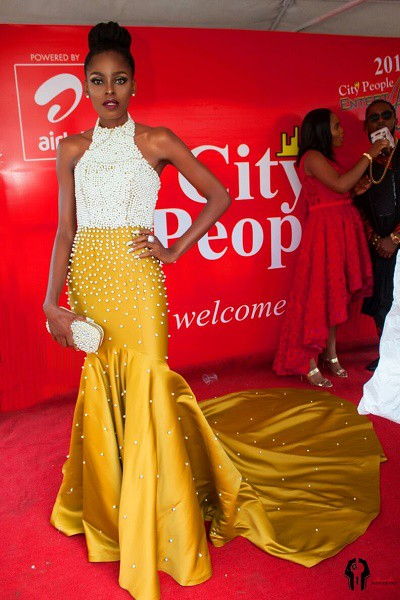 SEE WHAT MODEL VICTORIA, SELLY, SALMA & OTHER GHANA REP WORE @  CPEA IN LAGOS
