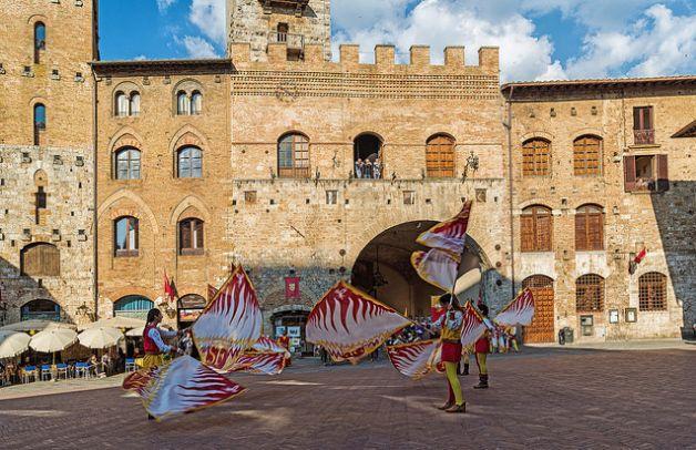 San Gimignano, Tuscany-Italy
