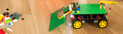 Mr. Stitson - A kid friendly Arduino - LEGO robot