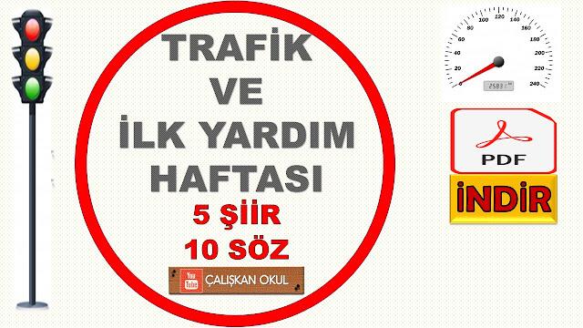 TRAFİK HAFTASI ŞİİRLERİ