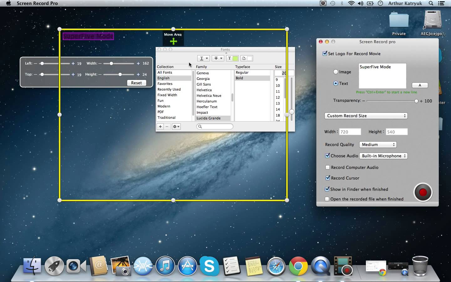 how to use the screen recorder on window