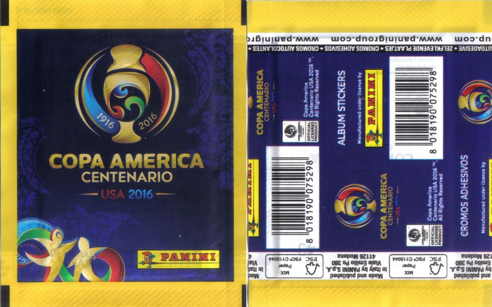 copa uruguaya coca cola Copa America Centenario USA 2016. Panini Argentina, Brazil, Chile, Colombia, Mexico, Uruguay, USA, Venezuela