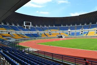Stadion GBLA Gedebage Direnovasi