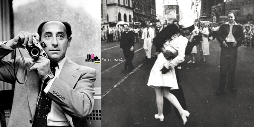 V-J Day Kiss in Times Square, il celebre bacio immortalato da Alfred Eisenstaedt